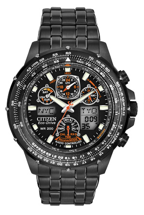 Citizen Citizen Eco-Drive  Skyhawk A-T Black Eagle JY0005-50E Atomic Timekeeping